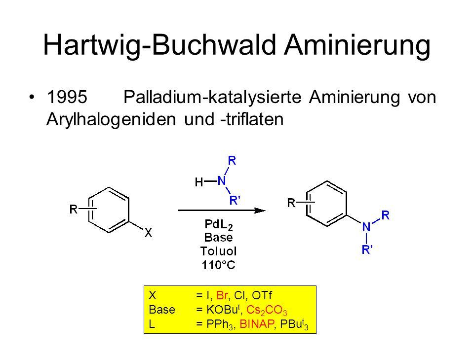 Hartwig-Buchwald Aminierung