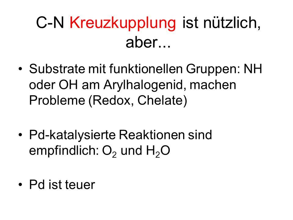 C-N Kreuzkupplung ist nützlich, aber...