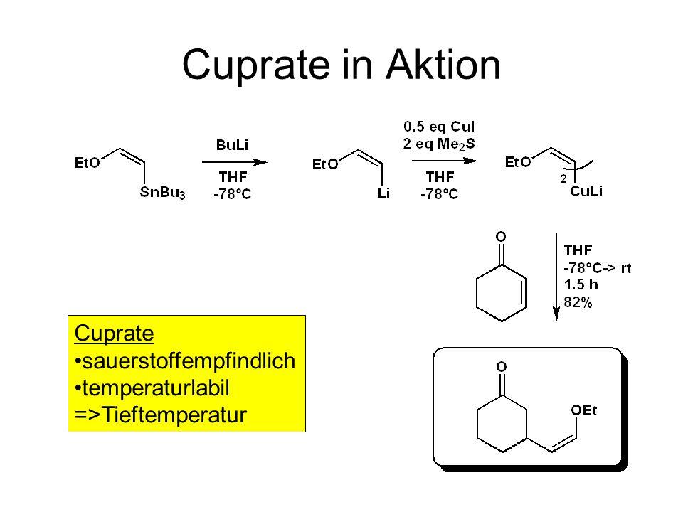Cuprate in Aktion Cuprate sauerstoffempfindlich temperaturlabil