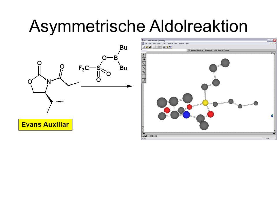 Asymmetrische Aldolreaktion