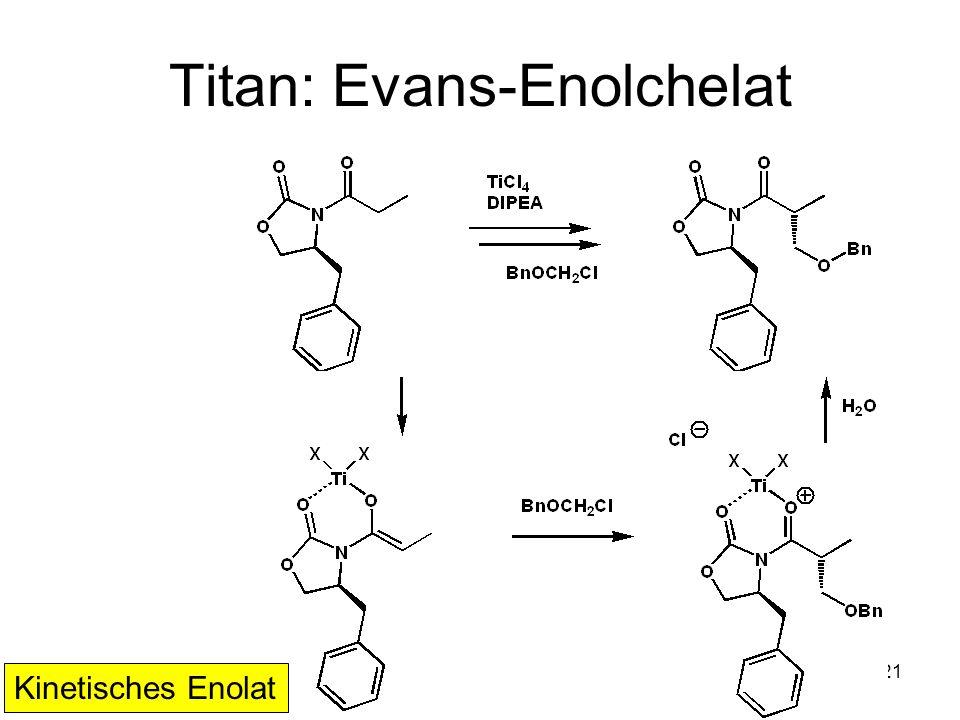 Titan: Evans-Enolchelat