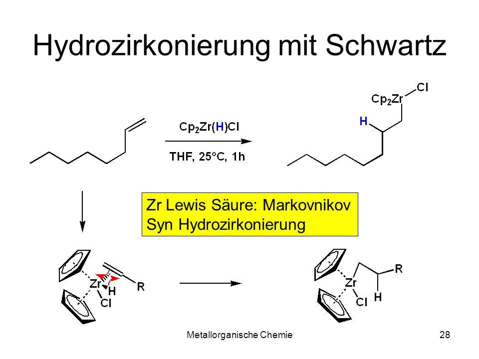 Hydrozirkonierung mit Schwartz