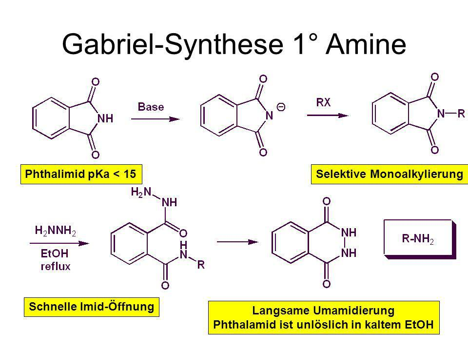 Gabriel-Synthese 1° Amine