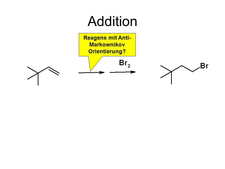 Reagens mit Anti-Markownikov