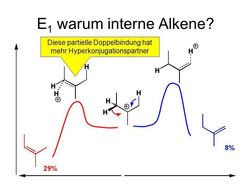 Diese partielle Doppelbindung hat mehr Hyperkonjugationspartner