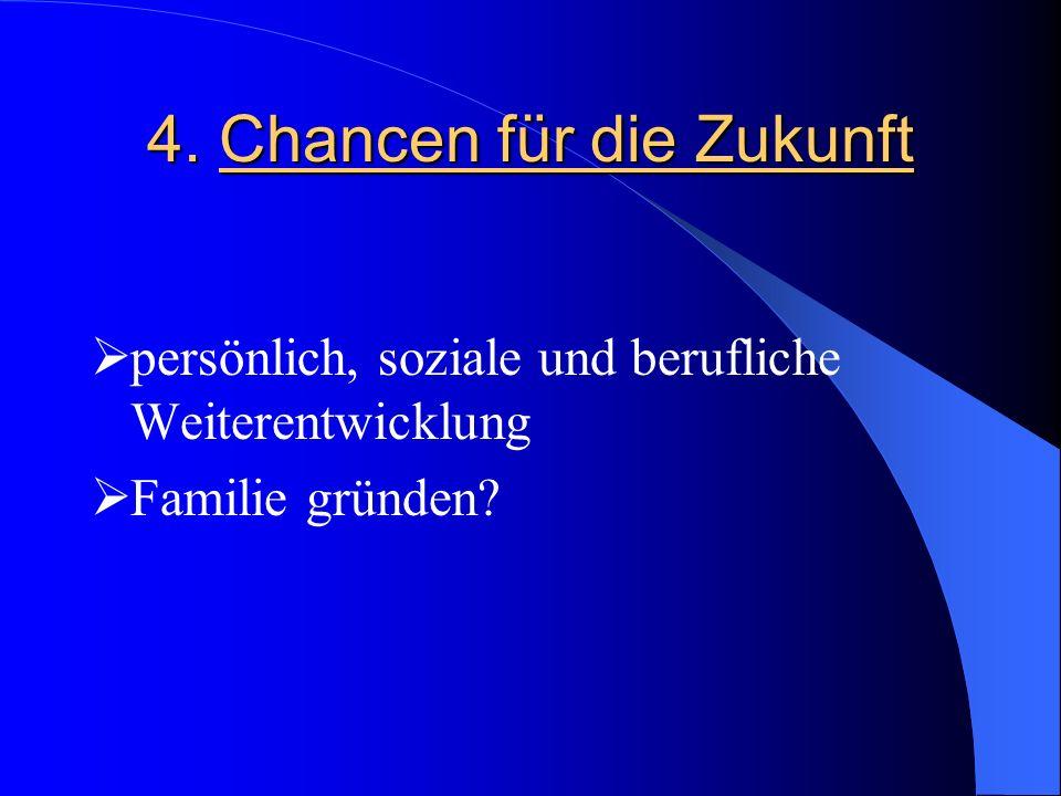4. Chancen für die Zukunft