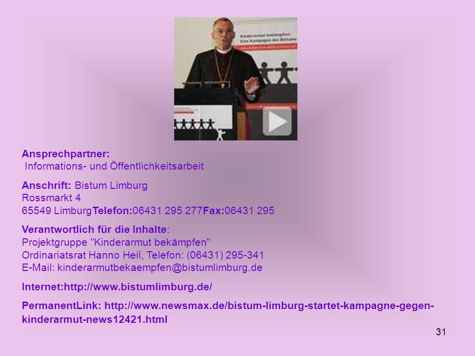 Ansprechpartner: Informations- und Öffentlichkeitsarbeit
