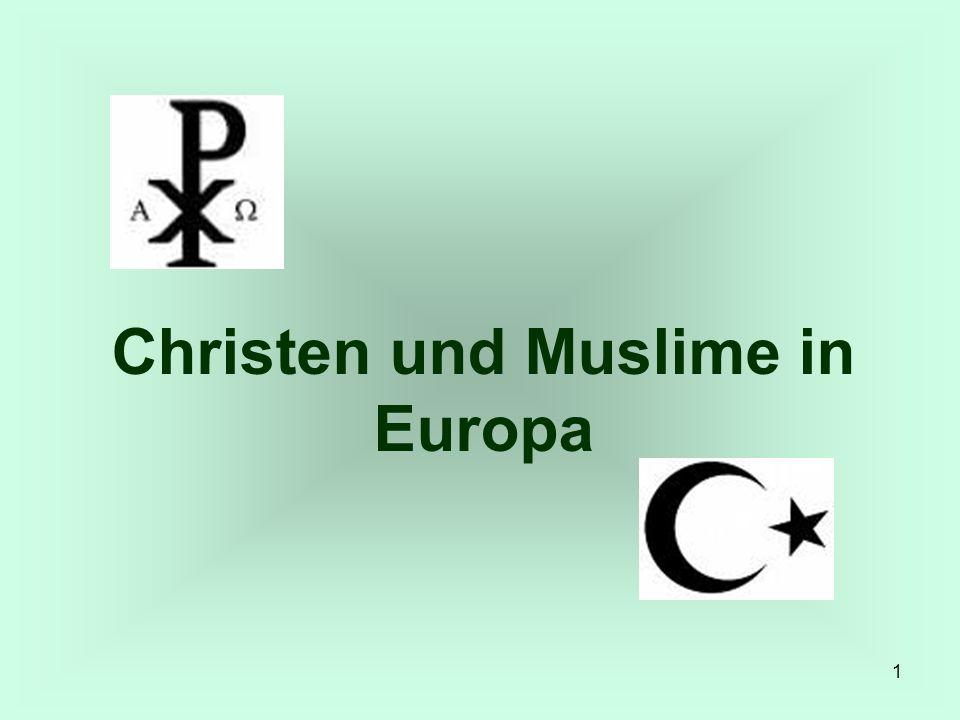 Christen und Muslime in Europa