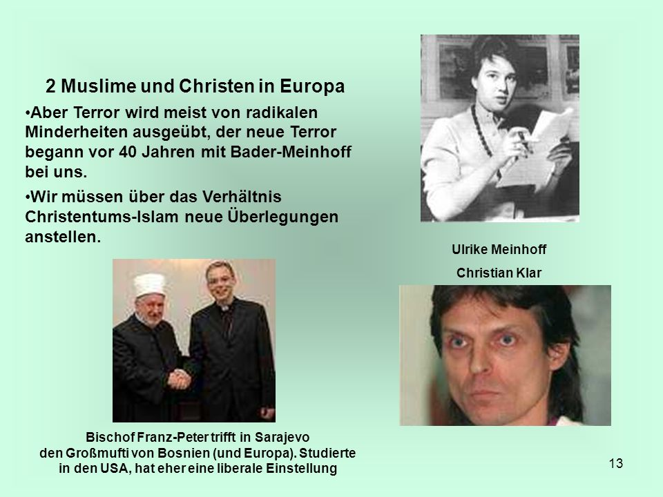2 Muslime und Christen in Europa
