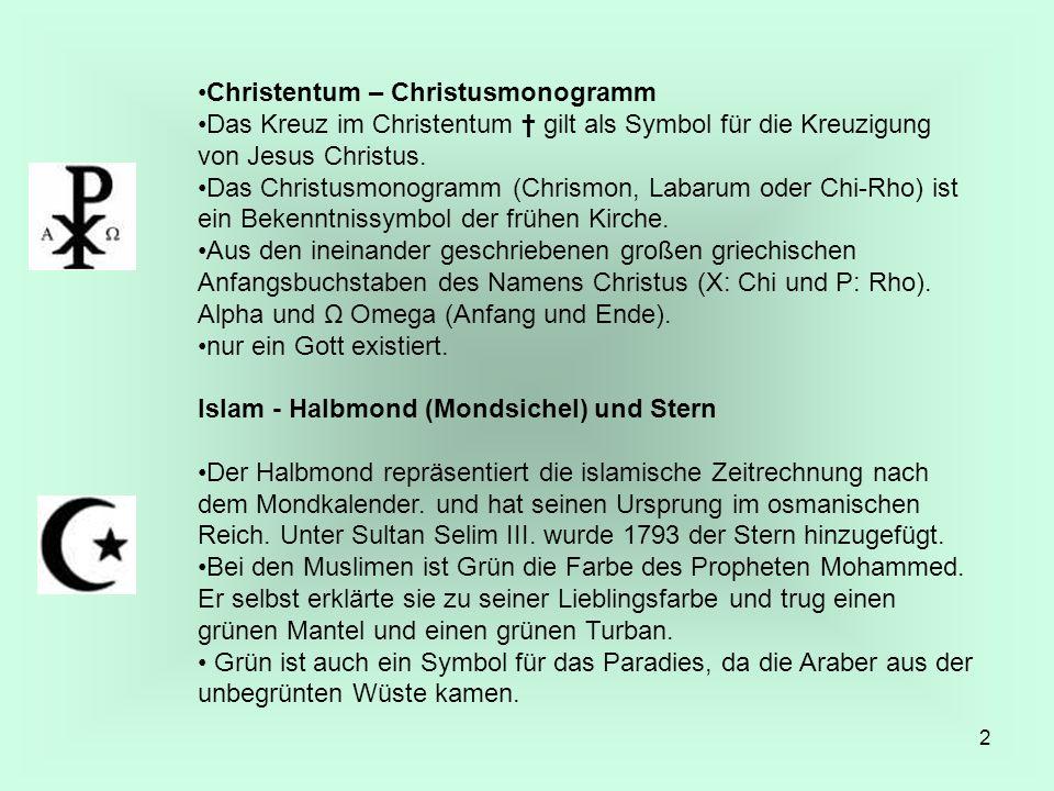 Christentum – Christusmonogramm