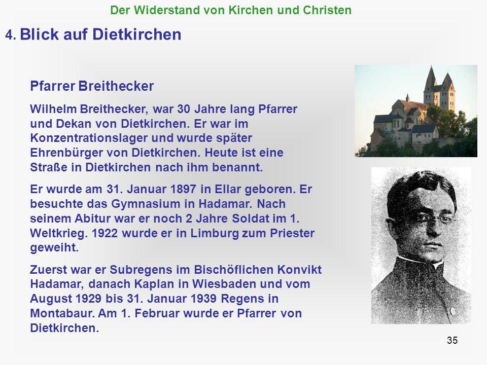 4. Blick auf Dietkirchen Pfarrer Breithecker