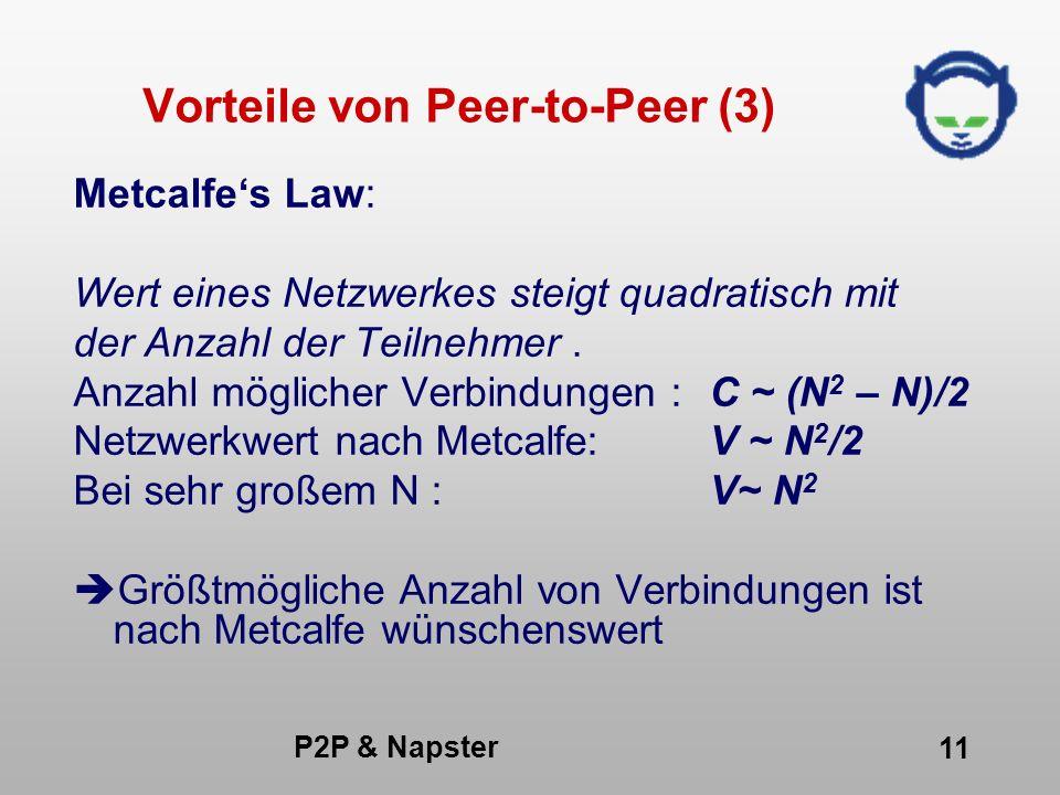 Vorteile von Peer-to-Peer (3)