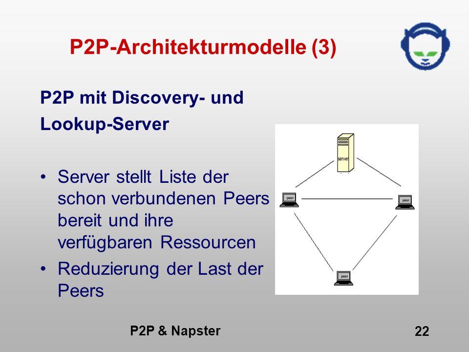 P2P-Architekturmodelle (3)
