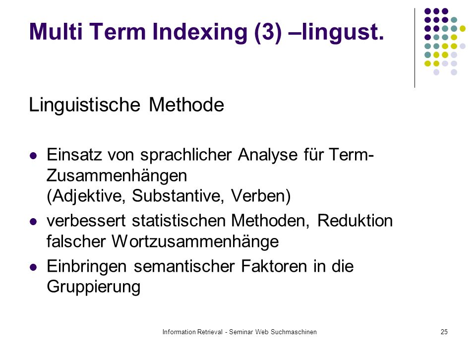 Multi Term Indexing (3) –lingust.