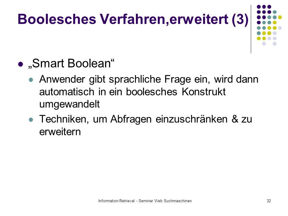 Boolesches Verfahren,erweitert (3)