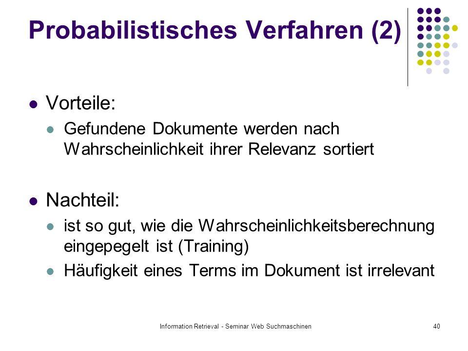 Probabilistisches Verfahren (2)