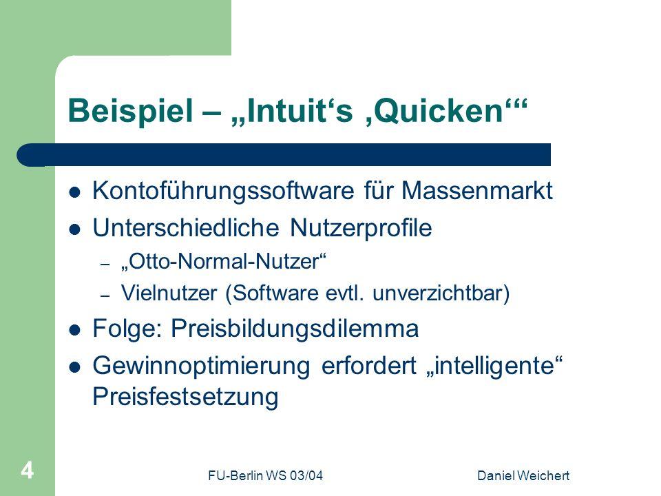 """Beispiel – """"Intuit's 'Quicken'"""