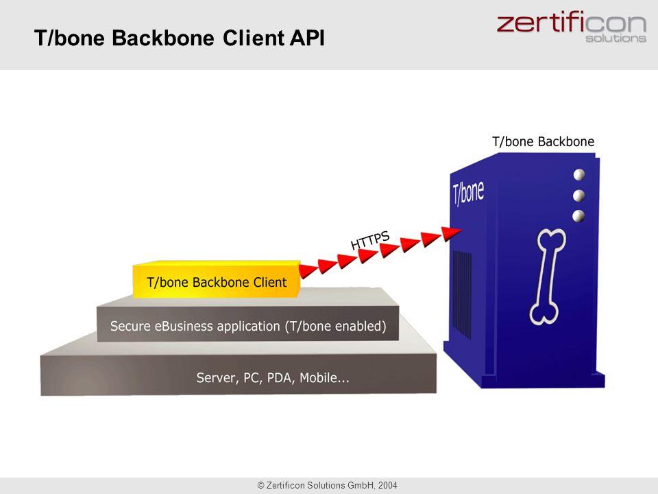 T/bone Backbone Client API