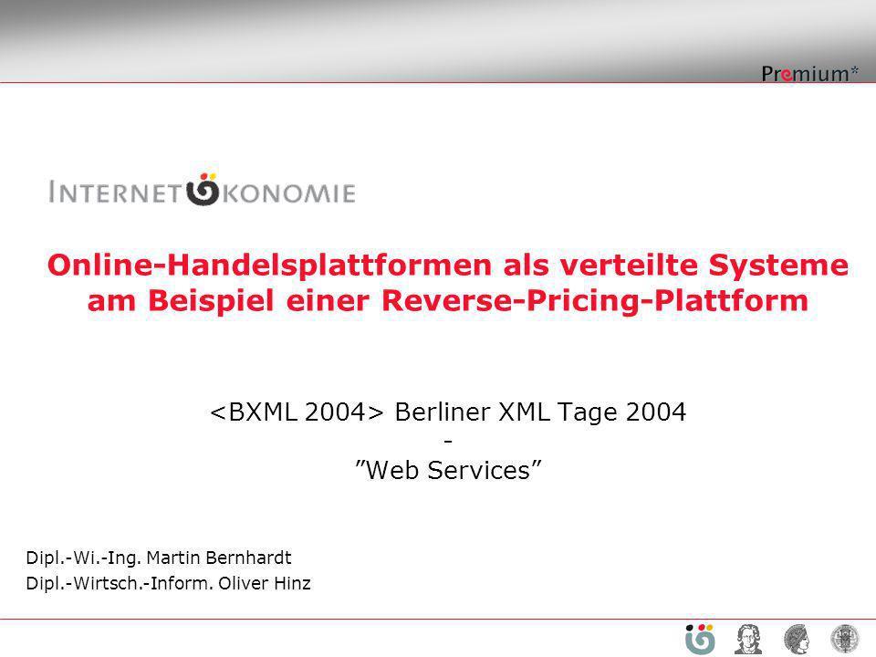 <BXML 2004> Berliner XML Tage 2004 - Web Services