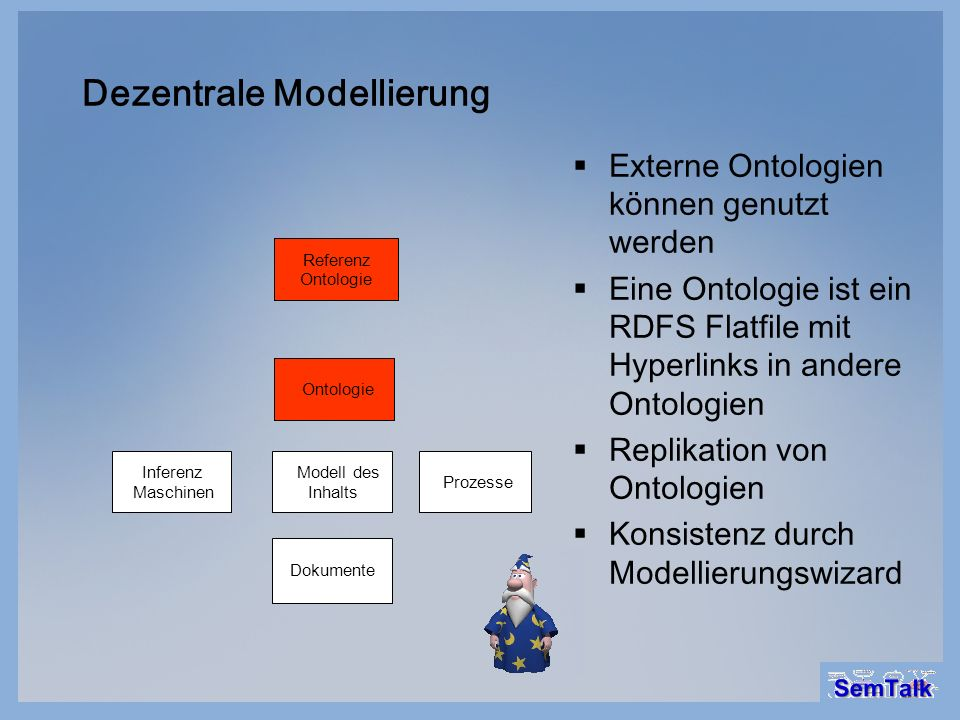 Dezentrale Modellierung