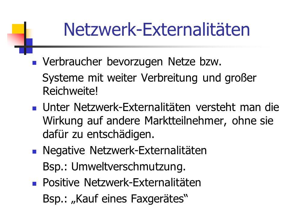 Netzwerk-Externalitäten