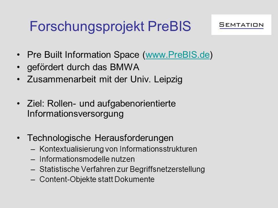 Forschungsprojekt PreBIS