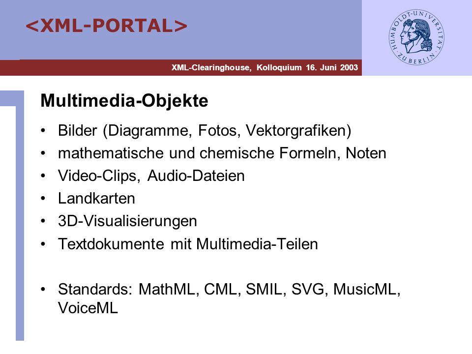 Multimedia-Objekte Bilder (Diagramme, Fotos, Vektorgrafiken)