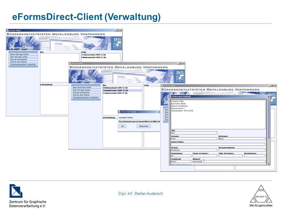 eFormsDirect-Client (Verwaltung)