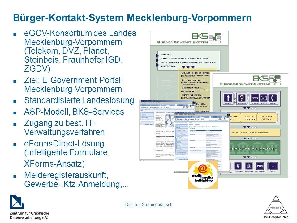 Bürger-Kontakt-System Mecklenburg-Vorpommern