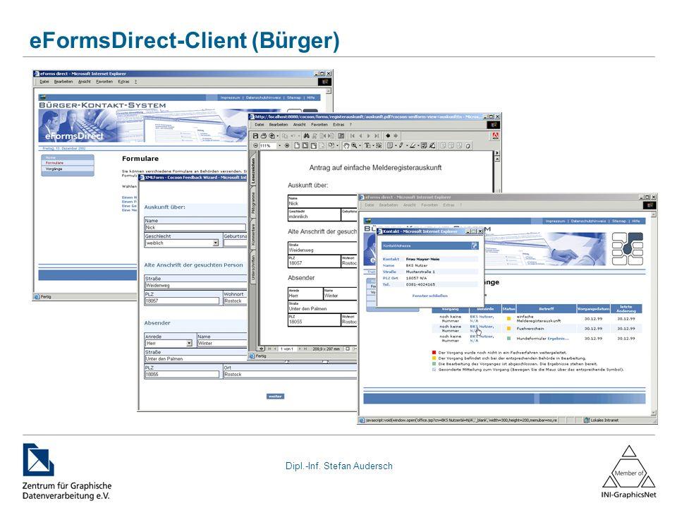 eFormsDirect-Client (Bürger)