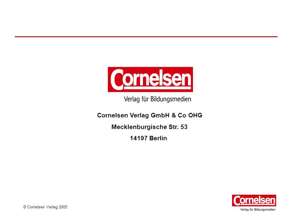 Cornelsen Verlag GmbH & Co OHG