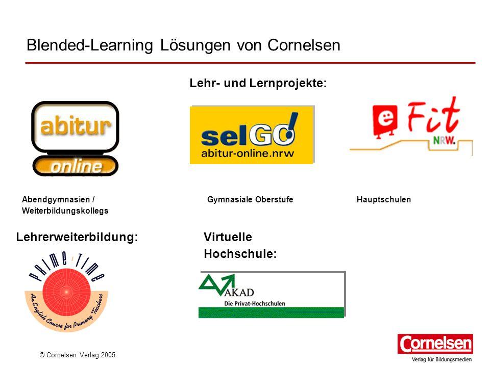 Blended-Learning Lösungen von Cornelsen