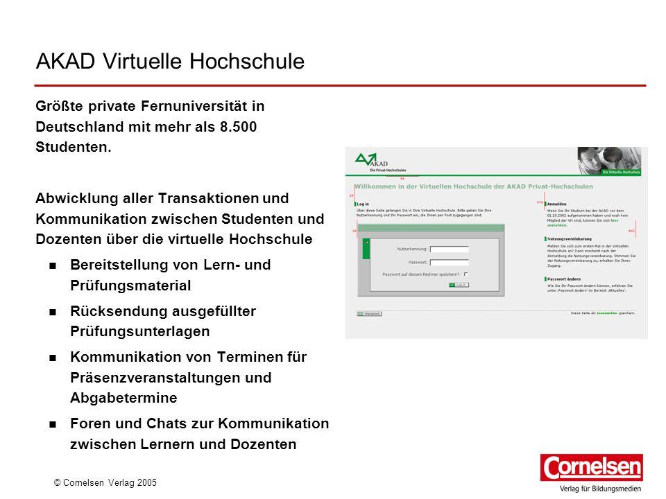 AKAD Virtuelle Hochschule