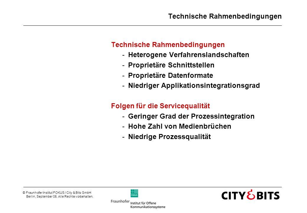 Technische Rahmenbedingungen