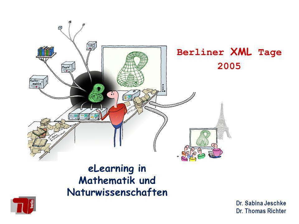 eLearning in Mathematik und Naturwissenschaften