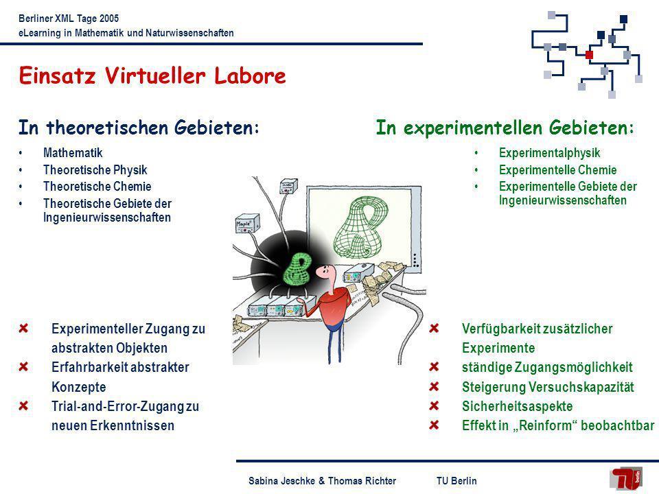 Einsatz Virtueller Labore