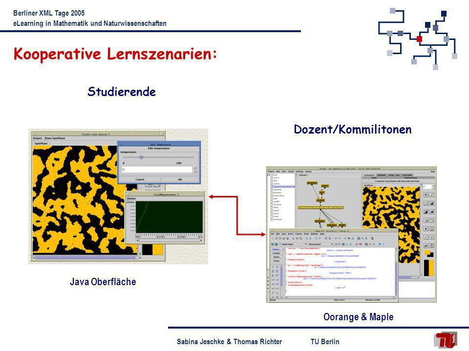 Kooperative Lernszenarien: