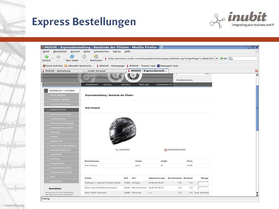 Express Bestellungen