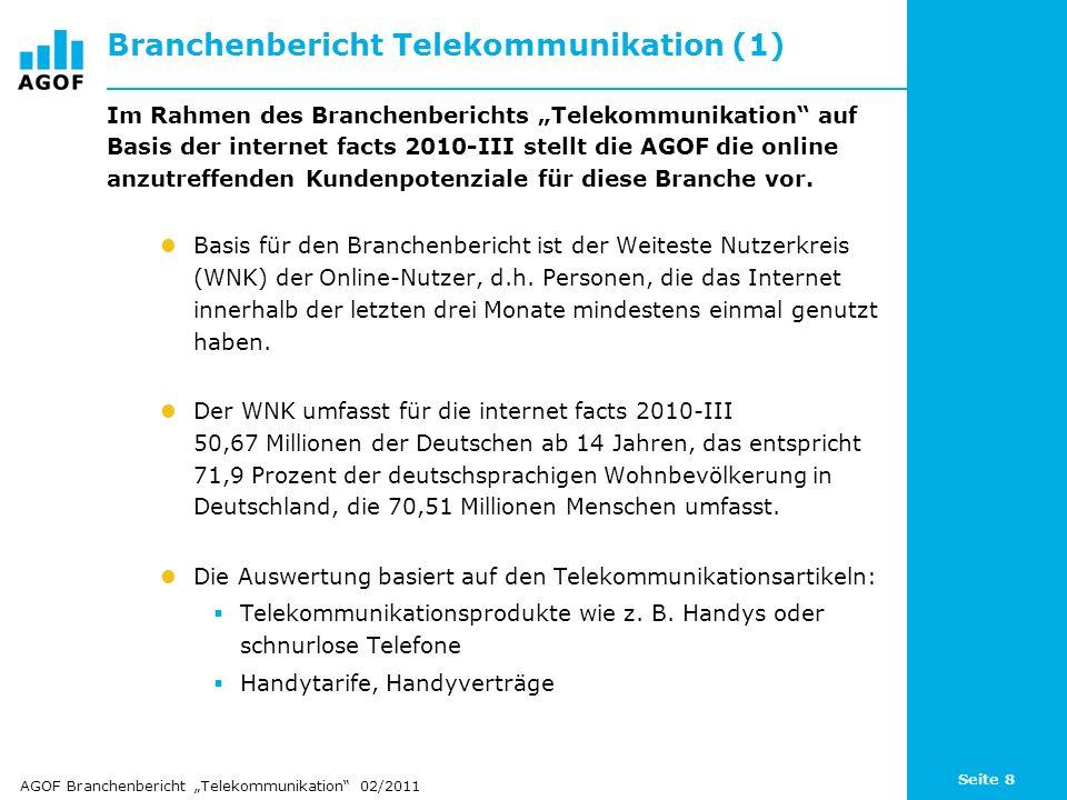 Branchenbericht Telekommunikation (1)