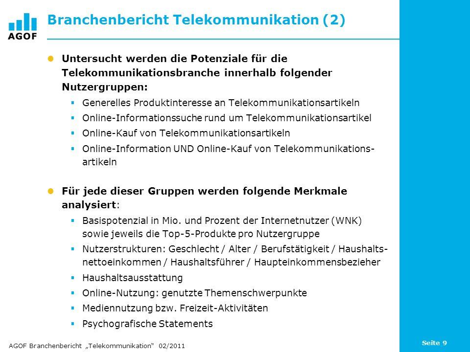 Branchenbericht Telekommunikation (2)