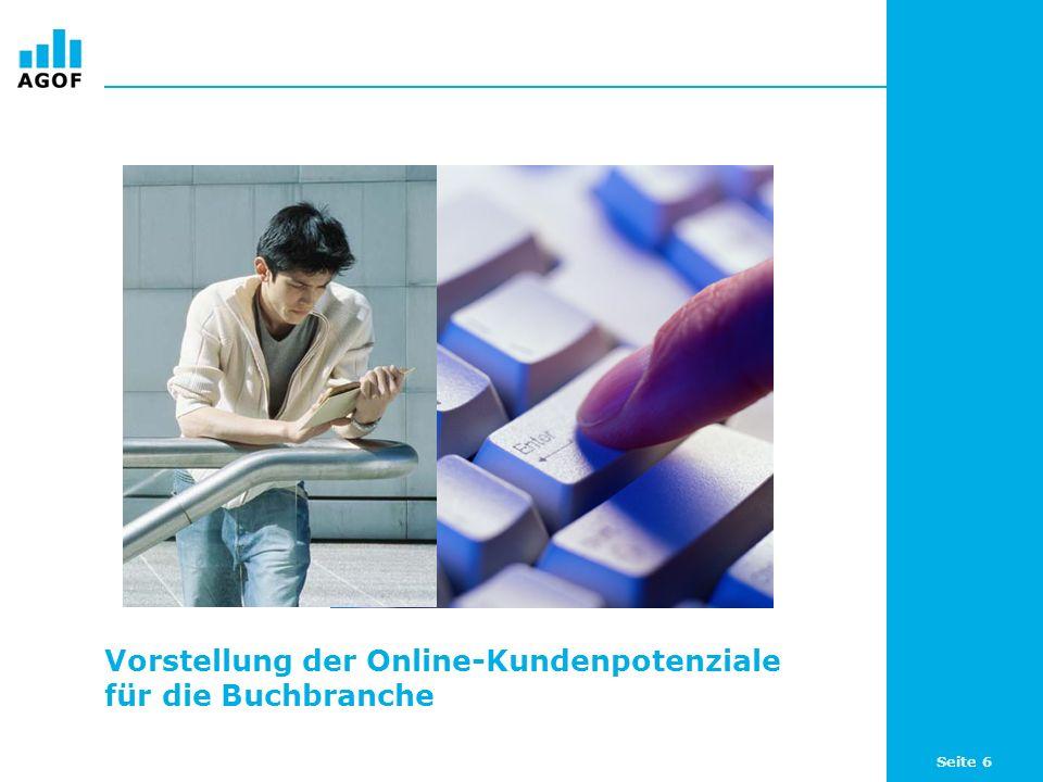 Vorstellung der Online-Kundenpotenziale für die Buchbranche