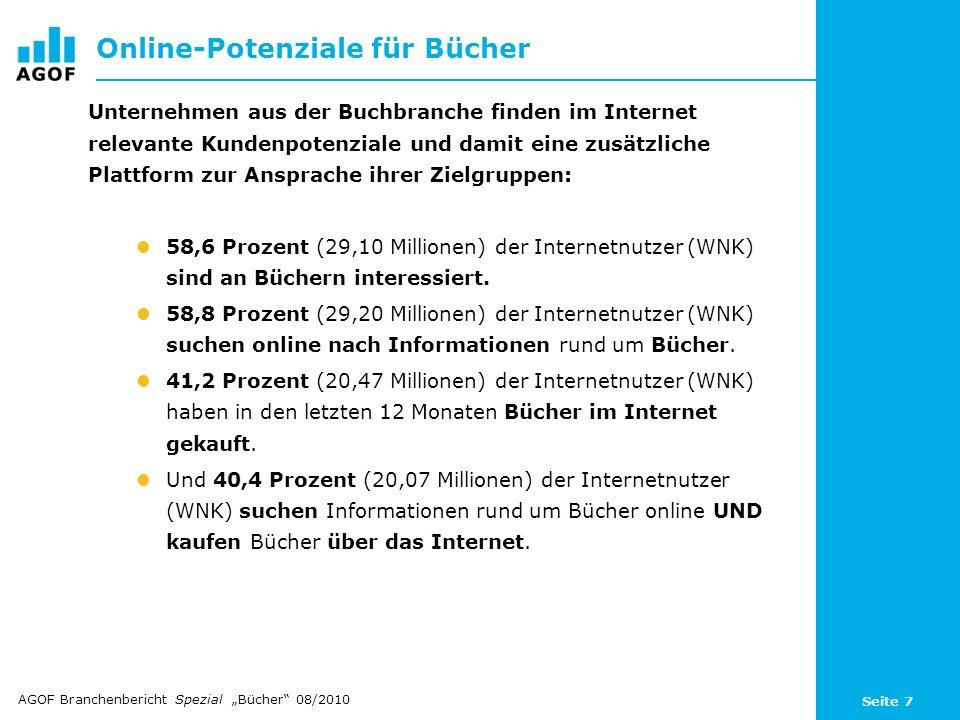 Online-Potenziale für Bücher