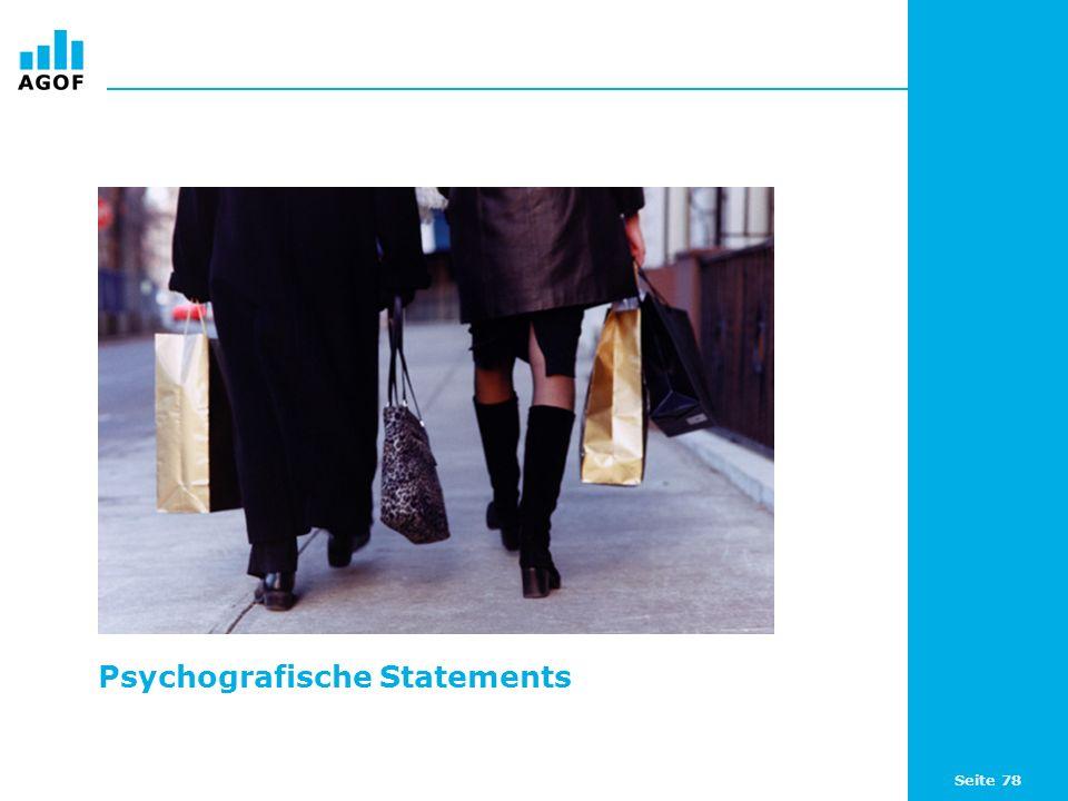 Psychografische Statements