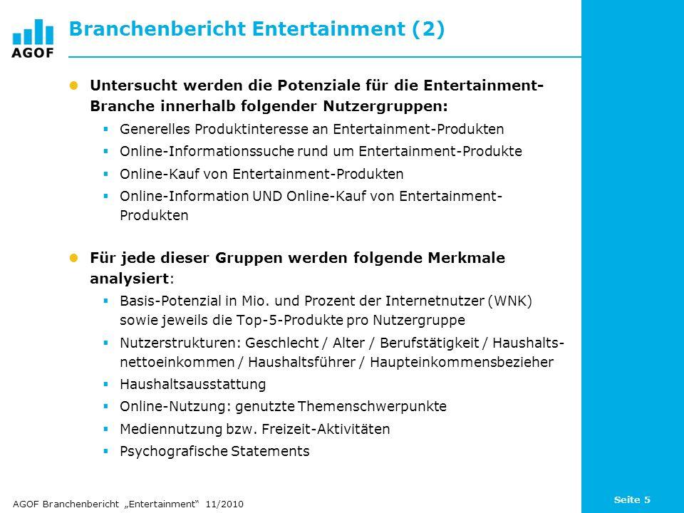 Branchenbericht Entertainment (2)
