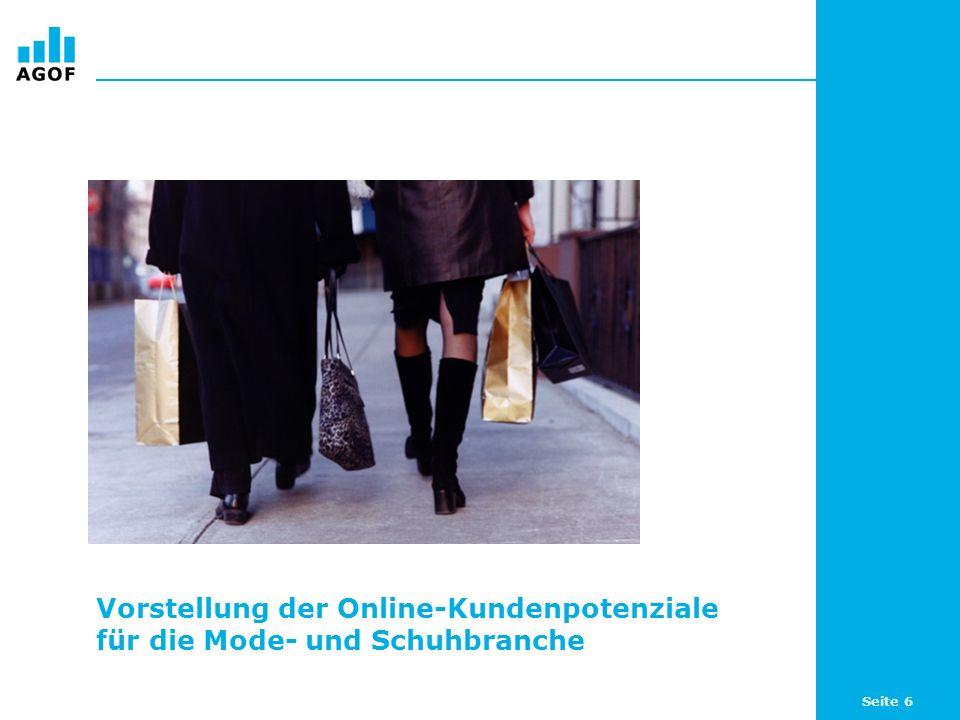 Vorstellung der Online-Kundenpotenziale für die Mode- und Schuhbranche
