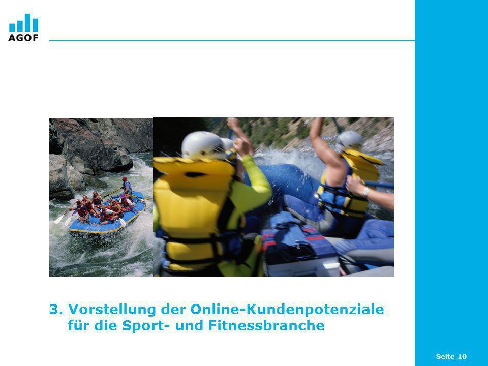 3. Vorstellung der Online-Kundenpotenziale für die Sport- und Fitnessbranche