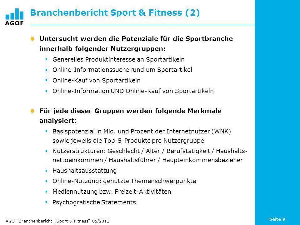 Branchenbericht Sport & Fitness (2)
