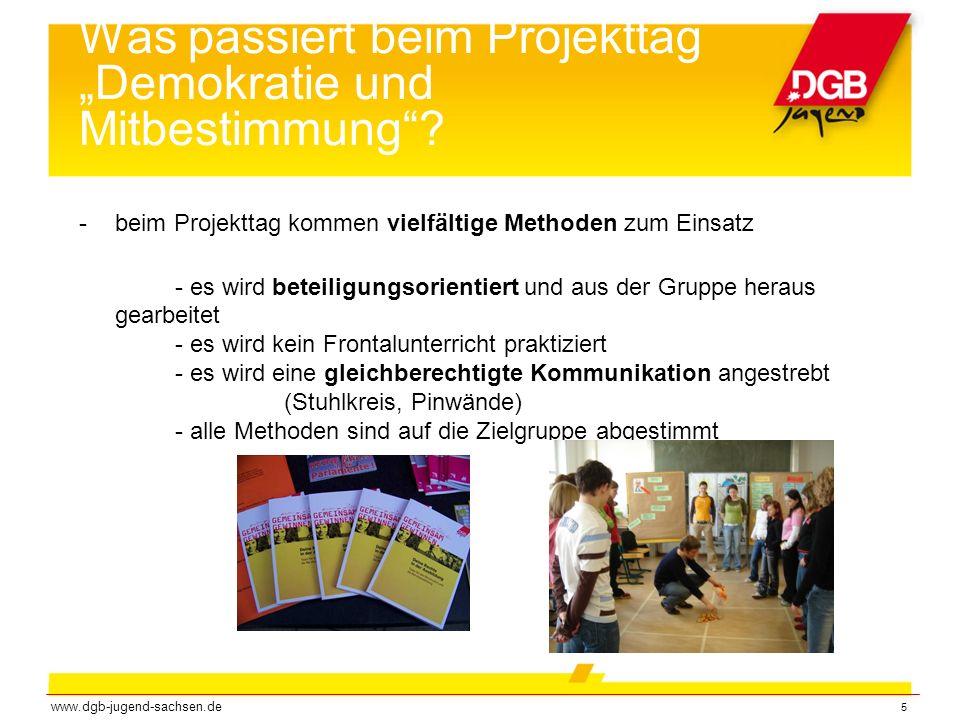 """Was passiert beim Projekttag """"Demokratie und Mitbestimmung"""