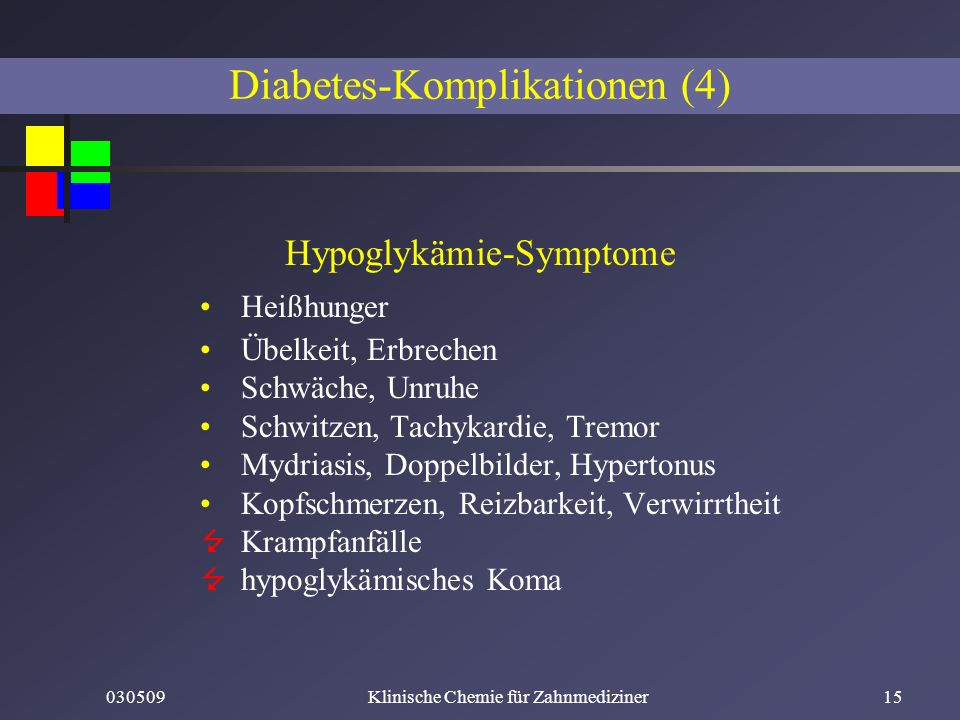 Diabetes-Komplikationen (4)