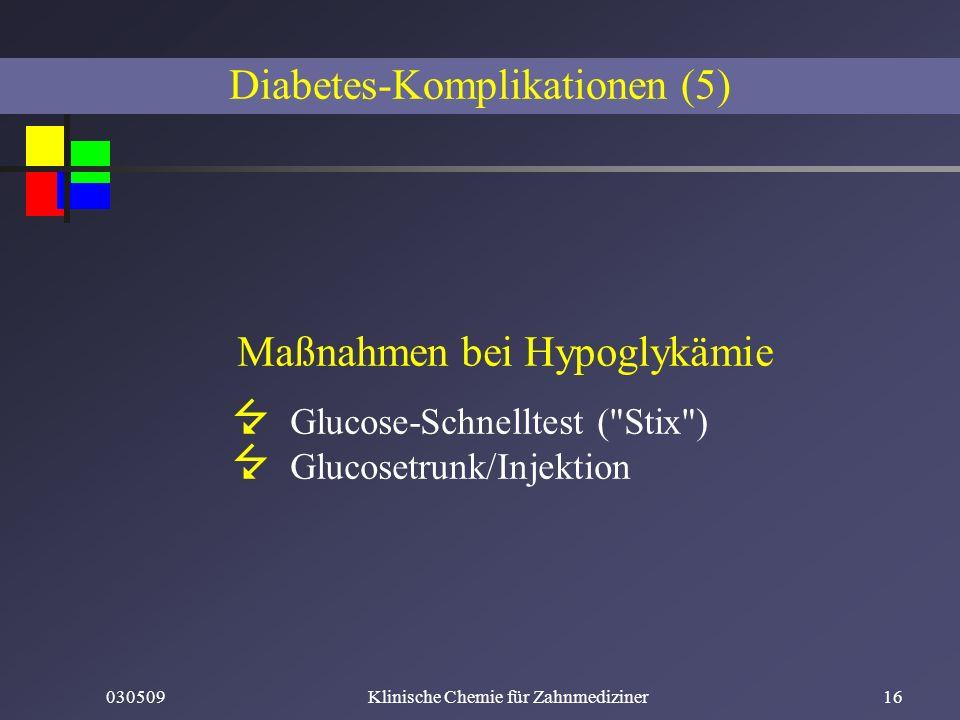 Diabetes-Komplikationen (5)